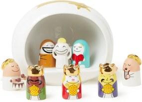 Alessi Presepe kerststal set van 11