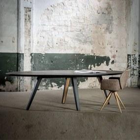 Eiken Eettafel houten eettafel Eminent - Ovaal
