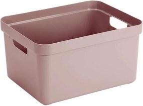 Sigma home box 32 liter - roze - 24,3x35,4x45,3 cm - Leen Bakker