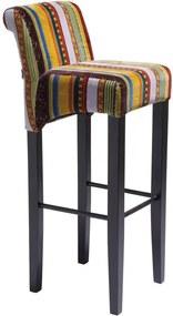 Kare Design Very British Barstoel Kleurrijk Fluweel