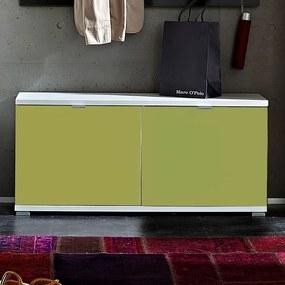 Germania Colorado Hoogglans Schoenenbank Groen - 106x30x49cm.