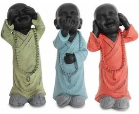 Beeldjes Multicolour Signes Grimalt  Buddha No Go-Oye-Speech In September 3U