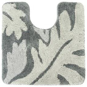 Toiletmat Differnz Folia Antislip 60x60 cm Nylon Grijs