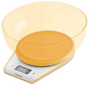 90.116AR, elektronische keukenweegschaal, geel