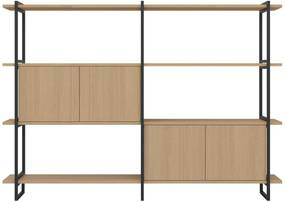 Studio HENK Modular Cabinet MC-4L wandkast 200x143