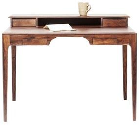 Kare Design Brooklyn Walnut Bureau Hout - 110 X 70cm.