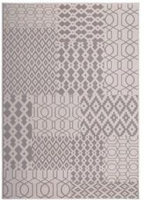 More99 | Vloerkleed Fred lengte 120 cm x breedte 170 cm x hoogte 1 cm multicolour, taupe vloerkleden bovenkant: 100% polypropyleen-bc | NADUVI outlet