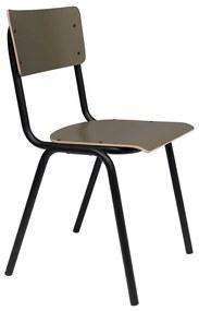 Zuiver Back To School Matte Retro Stoel Mat Groen