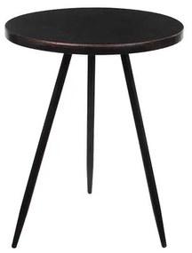 Ronde tafel zwart maat in cm: 51,5 x 40