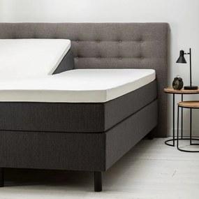 Fresh & Co 2- Pack Comfort Split- Topper Hoeslaken Jersey-Wit 160 x 200/210 cm