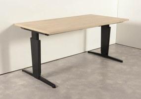 Bureau, bladkleur naar keuze, 160 x 80 cm
