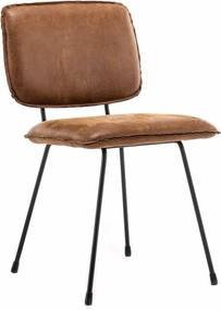 Eetkamerstoel Leder of Stof Totti Chair (no arm)