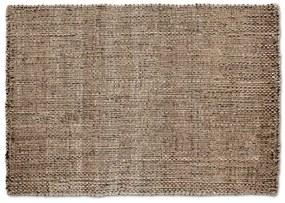 Riya geweven juten vloerkleed, 120 x 170 cm, natuurlijke kleuren