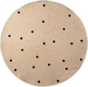 Ferm Living Black Dots vloerkleed 130