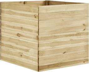 Plantenbak verhoogd 100x100x97 cm geïmpregneerd grenenhout