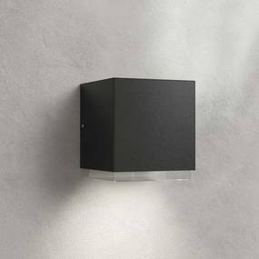 LED buitenwandlamp Ekin, donkergrijs, 1-lamp