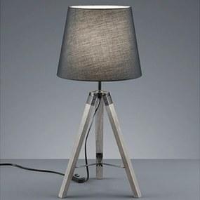 Reality Tafellamp Tripod - Hout - Grijs