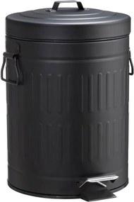 Pedaalemmer 5 Liter Mat Zwart
