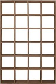 TemaHome Pombal Walnoten Open Kast Met 24 Vakken - 151x34x224cm.