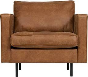 Rodeo fauteuil Classic cognac BePureHome