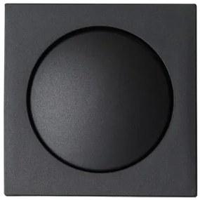Plieger Sol centraalplaat dimmer zwart mat
