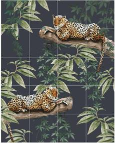 IXXI Chilling in the Jungle & Into the wild wanddecoratie - dubbelzijdig