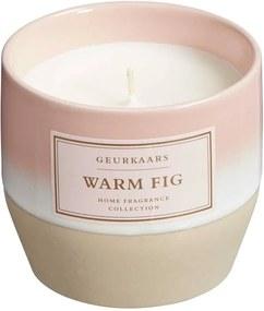 Geurkaars In Pot Warm Fig