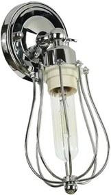 Marconi Industrieel Design Wandlamp Parel Zwart