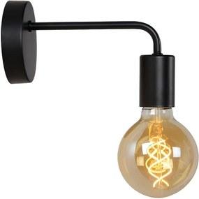 Lucide wandlamp Scott - zwart - Leen Bakker