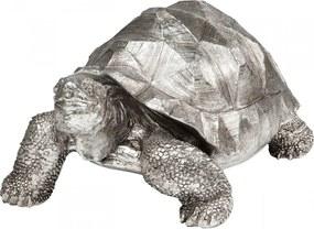 Kare Design Turtle Silver Zilveren Deco Schildpad Medium