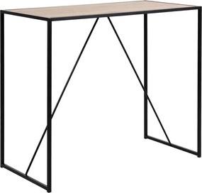 Lisomme Industriële bartafel - Vic - Hout - 105 cm hoog - Industriële bartafel - Houten tafel - Eettafel - Industrieel - Modern