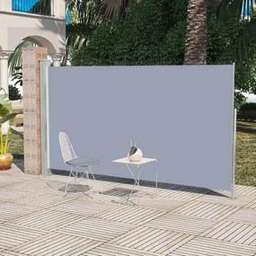 Zijluifel uittrekbaar 180x300 cm grijs