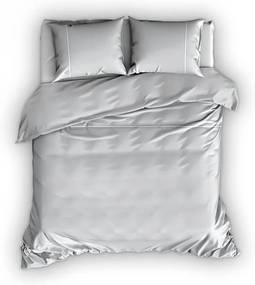 Romanette Duchesse - Verwarmend Flanel - Zilver Lits-jumeaux XL (270 x 200/220 cm + 2 kussenslopen) Dekbedovertrek