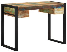 Bureau massief gerecycled hout