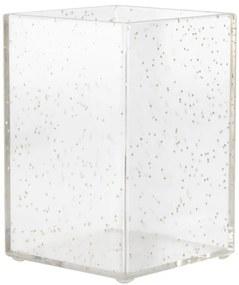 Pennenbakje 7x7x10.5 - Rosé Goud