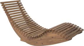 Ligstoel acaciahout BRESCIA