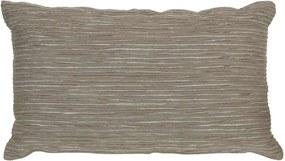 Sierkussen Ben - taupe - 30x50 cm - Leen Bakker