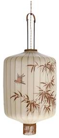 HKliving Traditional Lantern Cream Traditionele Lampion Uit Taiwan XL