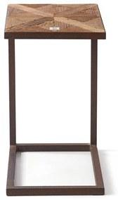 Rivièra Maison - Chateau Chassigny Sofa Table - Kleur: bruin