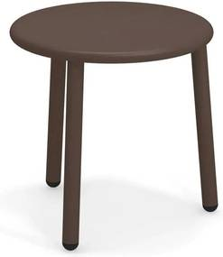 Emu Yard Coffee Table Bijzettafel Staal Brown 40