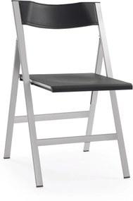 LaForma Fargo Folding Chair - Klapstoel- Eetkamerstoel - Retro - Inklapbaar - Metaal - Metalen - Plat inklapbaar