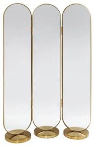 Kare Design Curve Messing Spiegel Kamerscherm - 106x166cm