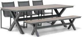 Lifestyle Delgada/Forest 240 cm dining tuinset 5-delig