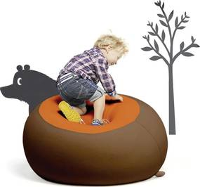 Terapy Stanley Kinder Zitzak - Bruin/Oranje