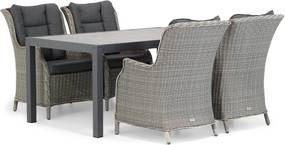 Garden Collections Aberdeen/Residence 164 cm dining tuinset 5-delig