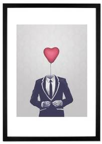Mr Valentine door Davies Babies, 40 x 50cm print