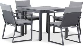 Lifestyle Treviso/Concept 90 cm dining tuinset 5-delig
