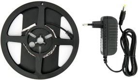 LED Strip, 2 Meter, 7.2 Watt/meter, 2835 LED's, Blauw, Incl. Adapter