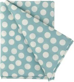 Tafelkleed - 140 X 200 - Polyester - Blauw Stip (blauw)