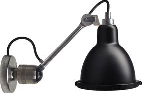 DCW éditions Lampe Gras N304 XL Outdoor Seaside wandlamp bare black